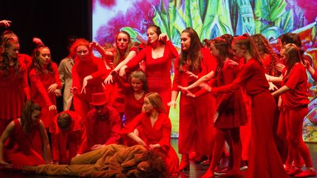 Sidmouth Youth Theatre put on a production of Wiz. shs 06 19TI 9375. Picture: Terry Ife