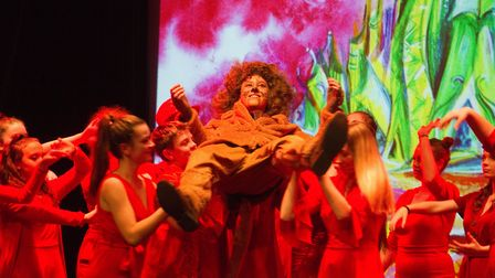 Sidmouth Youth Theatre put on a production of Wiz. shs 06 19TI 9374. Picture: Terry Ife