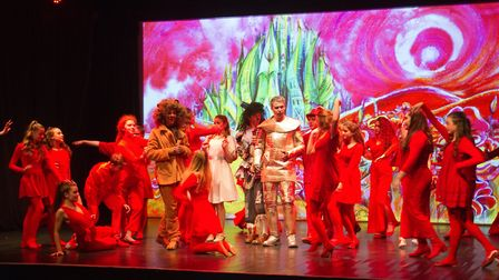 Sidmouth Youth Theatre put on a production of Wiz. shs 06 19TI 9367. Picture: Terry Ife