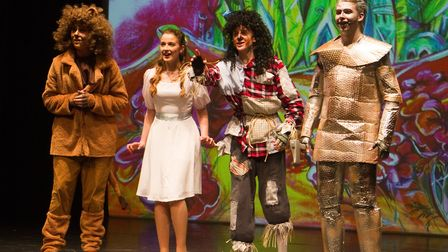Sidmouth Youth Theatre put on a production of Wiz. shs 06 19TI 9366. Picture: Terry Ife
