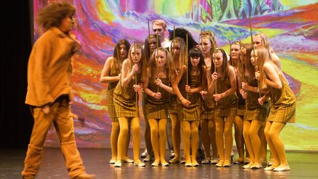 Sidmouth Youth Theatre put on a production of Wiz. shs 06 19TI 9343. Picture: Terry Ife