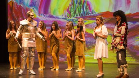 Sidmouth Youth Theatre put on a production of Wiz. shs 06 19TI 9332. Picture: Terry Ife