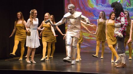 Sidmouth Youth Theatre put on a production of Wiz. shs 06 19TI 9330. Picture: Terry Ife