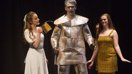 Sidmouth Youth Theatre put on a production of Wiz. shs 06 19TI 9326. Picture: Terry Ife