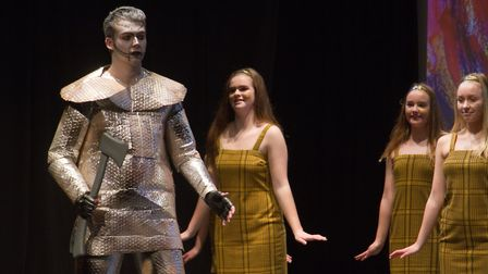 Sidmouth Youth Theatre put on a production of Wiz. shs 06 19TI 9323. Picture: Terry Ife