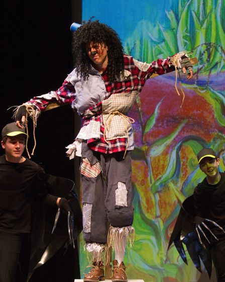 Sidmouth Youth Theatre put on a production of Wiz. shs 06 19TI 9296. Picture: Terry Ife