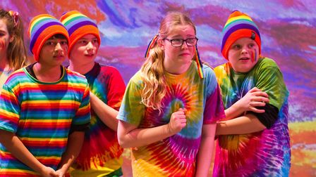 Sidmouth Youth Theatre put on a production of Wiz. shs 06 19TI 9283. Picture: Terry Ife