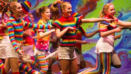 Sidmouth Youth Theatre put on a production of Wiz. shs 06 19TI 9265. Picture: Terry Ife