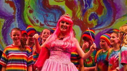 Sidmouth Youth Theatre put on a production of Wiz. shs 06 19TI 9254. Picture: Terry Ife