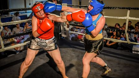 Ref Charity Boxing (1). Picture: Nathan Wallis