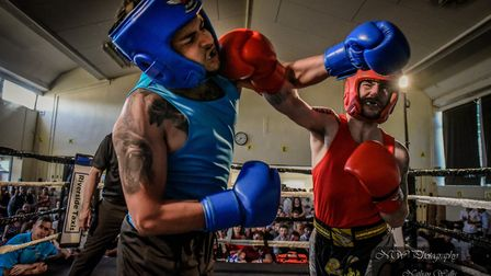 See the Future charity boxing event. Ref Charity Boxing (1). Picture: Nathan Wallis