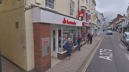 Santander, Sidmouth. Picture: Google Maps