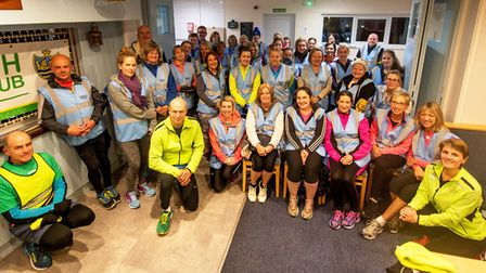 Sidmouth Running Club Beginners course January 2019. Picture SRC