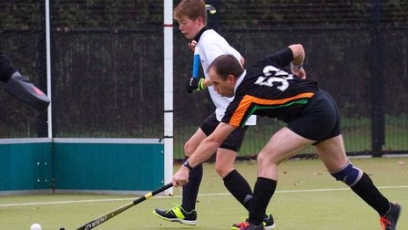 Sidmouth and Ottery mens 3rds take on the mens 4th team. Ref shsp 48 18TI 5430. Picture: Terry Ife
