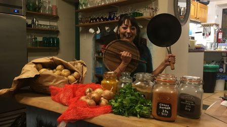 Tina Chauhan-Challis, the Samosa Lady, is going for a world record to make 500 samosas in 24 hours.