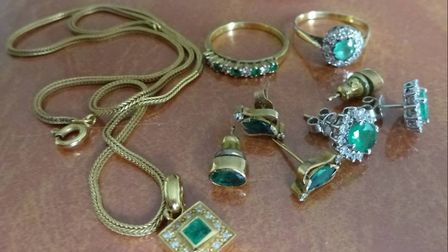 A police alert has been sent out to recover jewellery taken by thieves in the Sidmouth area. Picture