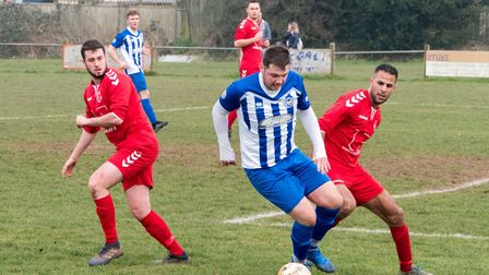 Ottery 1st team away at Budleigh 2nds. Ref shsp 09 19TI 1000958. Picture: Terry Ife