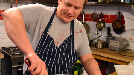 Rusty Pig owner and head chef, Robin Rea