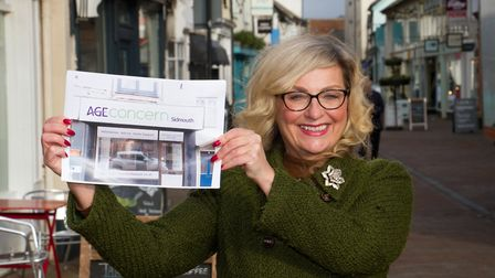 Gill Smith of Age Concern in Sidmouth. Ref shs 02 19TI 8269. Picture: Terry Ife