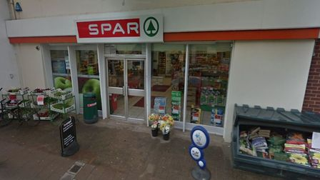 Spar shop on Temple Street in Sidmouth. Picture: Google