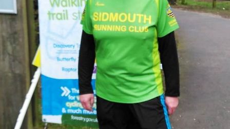 Sidmouth Running Club member David Skinner before the Haldon Forest Parkrun. Picture SRC