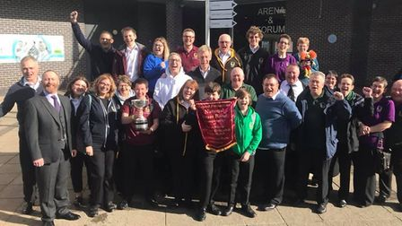 Sidmouth Town Band return triumphantly to the first section and national finals after coming first a