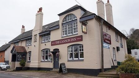 Newton poppleford pub The Cannon Inn put up for sale. Picture: Stonesmiths