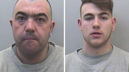 Alan Charlton, 41, and Connor Charlton, 20, have been sentenced at Exeter Crown Court. Picture: Devo
