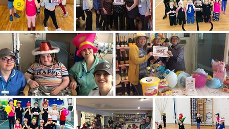 What a week of fundraising, Wear A Hat Week raises £7,000 for Brain Tumour Research. Pictures: Contr