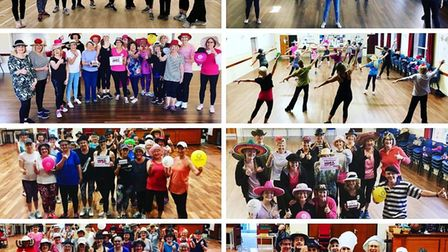 Dance it out! Wear A Hat Week raises £7,000 for Brain Tumour Research. Pictures: Contributed