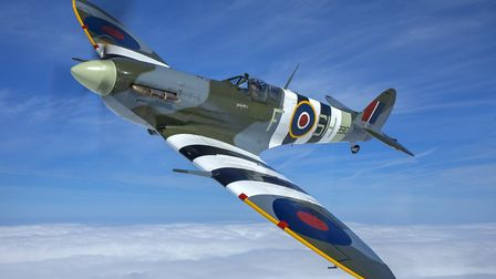 Battle of Britain Memorial Flight Spitfire is among the aircrafts confirmed for Sidmouth. Picture: R