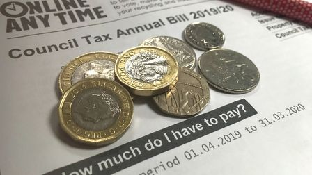 East Devon council tax bill for 2019/20. Picture: Beth Sharp
