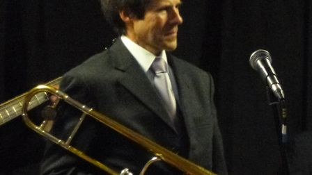 Guest trombonist Kevin Grenfell.Picture: Courtesy of artist.