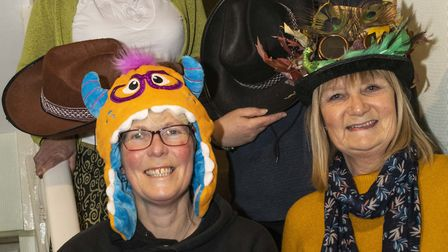Organisers (from the back) Sheila Pratt, Liz Clode, Alexa Baker and Cath Nettleton want Sidmouth res