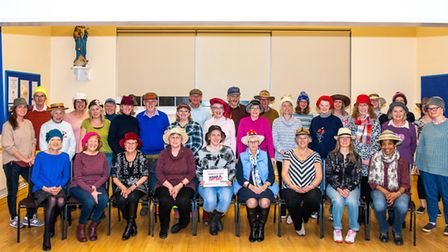 Don your hats this week to raise money for Wear A Hat Day in aid of Brain Tumour Research. Picture: