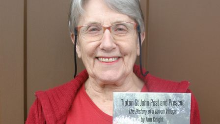 Ann Knight with her book, Tipton Past and Present. Picture: Tony Pugh
