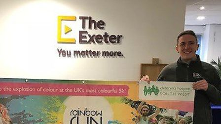 Health insurance and income protection specialist The Exeter are sponsoring this year's Rainbow Run.