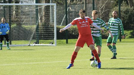 Ottery St Mary 1st away at Seaton 1st on Saturday, March 16. Picture: Sue McCabe