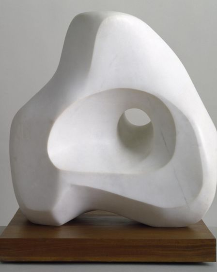 Sculputure by Dame Barbara Hepworth. Picture: Tate St Ives.