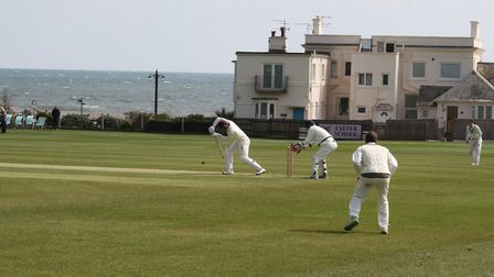 Sidmouth Cricket Club in action against Werrington. Picture: Sam Cooper