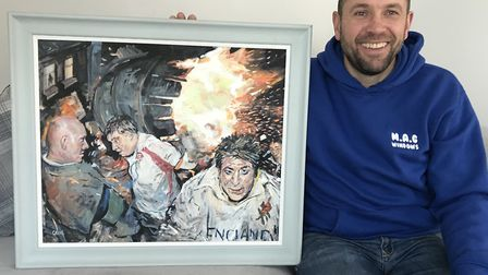 Marc Gething of MAGs Windows Ltd, Ottery St Mary, whose favourite work of art is a painting called '