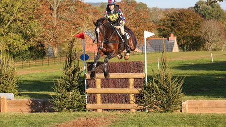Katie Hancock in action at the Bicton Arena. Picture JAYPHOTOSBICTON