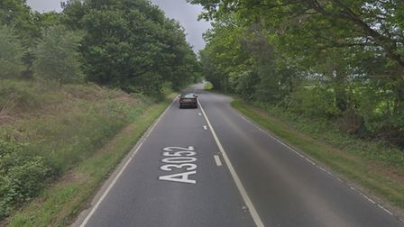 The A3052 near Newton Poppleford. Picture: Google Maps