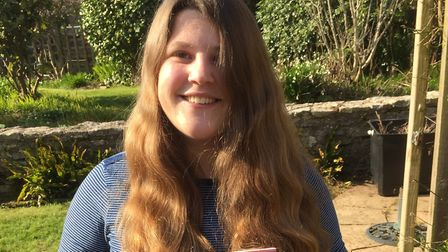 A former Sidmouth College pupil Jessica Cover releases her debut book A Tree For Me. Picture: Contri