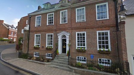 An application has been submitted to turn The Priory care home into nine apartments. CREDIT: Google