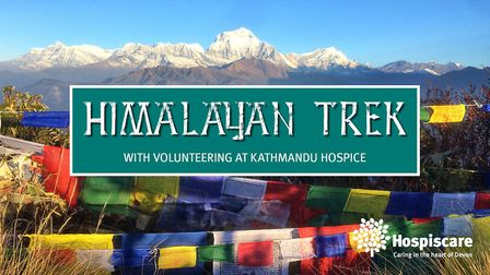 Hospiscare are organising a five day trek across parts of the Himalayas. Picture: Hospiscare
