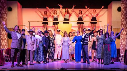 Sidmouth Musical Theatre present their latest show, Anything Goes. Picture: Brian Rees