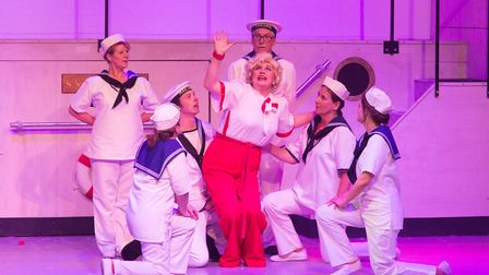 Anything Goes by Sidmouth Musical Theatre. Picture: Alex Walton Photography