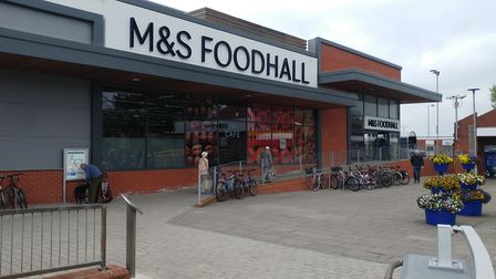 The M&S Foodhall in Exmouth. Picture: Terry Ife