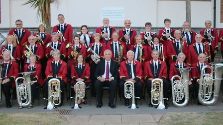 Ottery St Mary Silver Band. Picture: Kevin Bearne